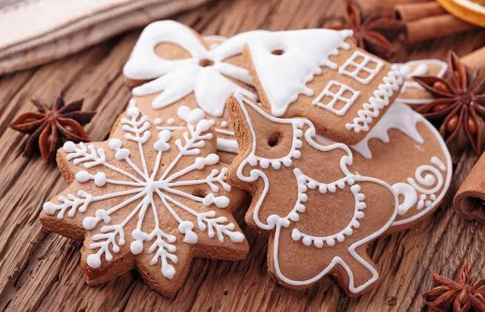 Рождественские спекулосы в Брюсселе на Рождество