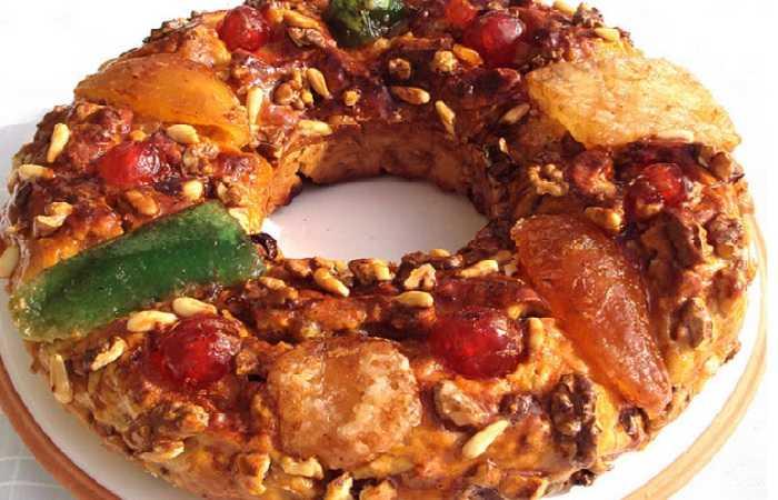 Блюда на Рождество - боло-рей, Португалия