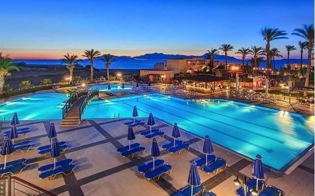 Horizon Beach Resort, пляжный отдых в Греции