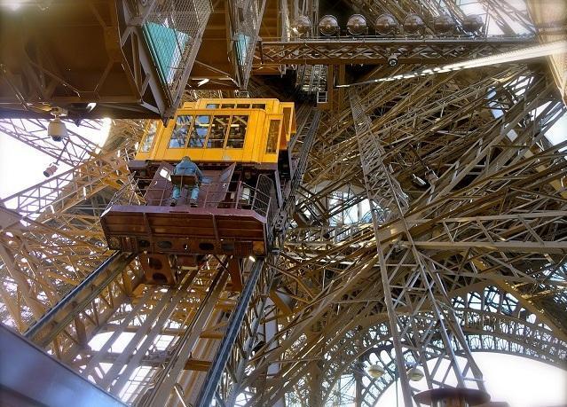 Лифт Эйфелевой башни, Париж