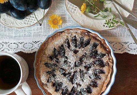 Сливовый пирог из Юго-Запада Франции