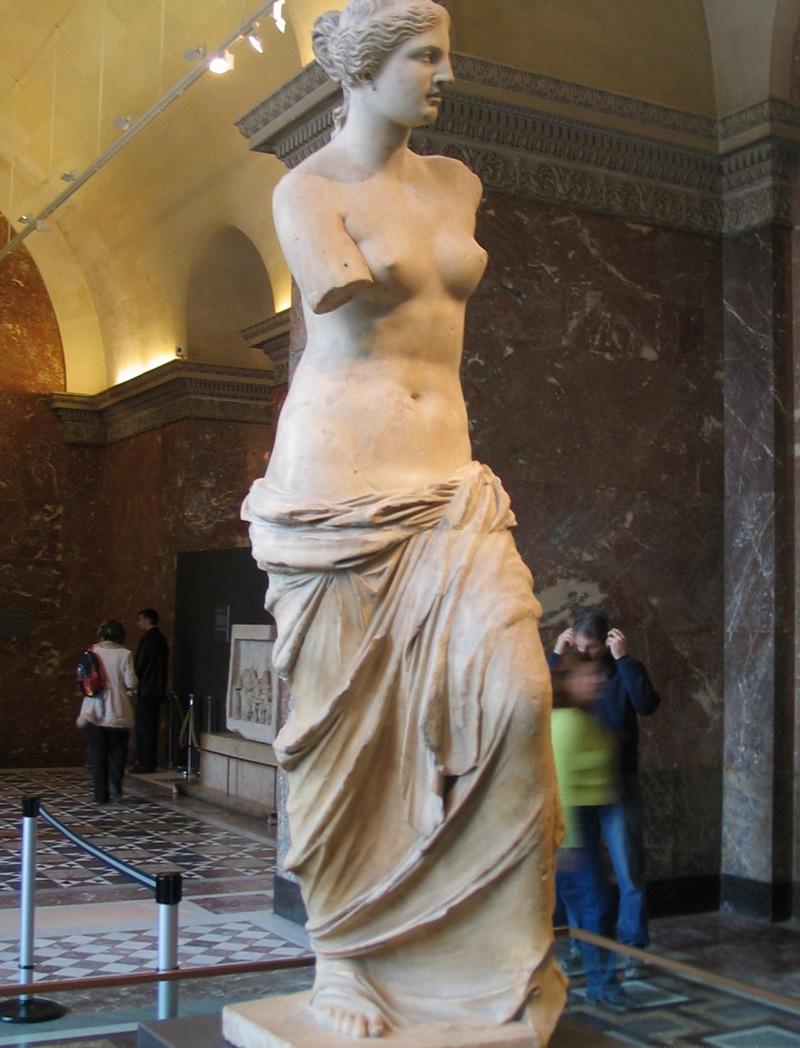 Венера Милосская Лувр