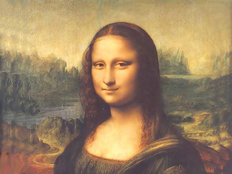 Джоконда (Мона Лиза) Лувр
