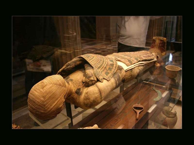Мумии Древнего Египта Лувр