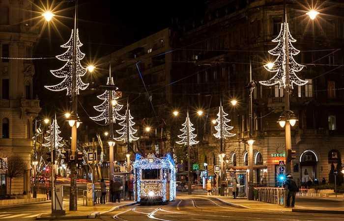 Где отметить Новый Год в Будапеште
