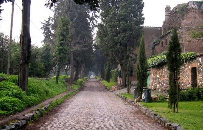 Аппиева дорога, окрестности Рима