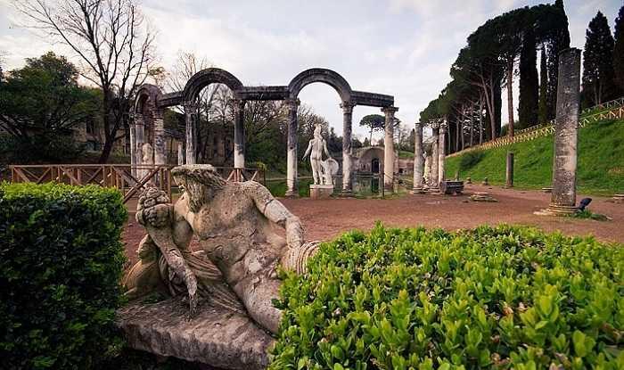 Окрестности Рима, вилла Адриана
