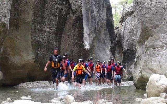 Рафтинг в Турции, каньон Кёпрюлю провинция Анталия