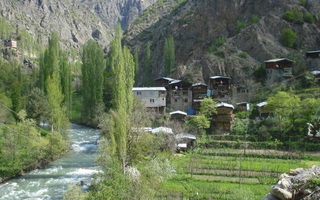 Рафтинг в Турции, река Чорух