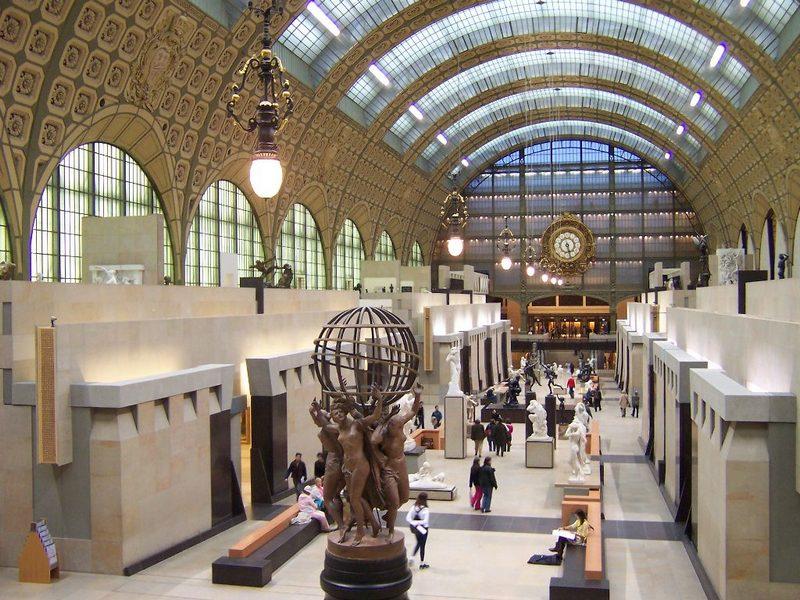 Музей д'Oрсе Париж