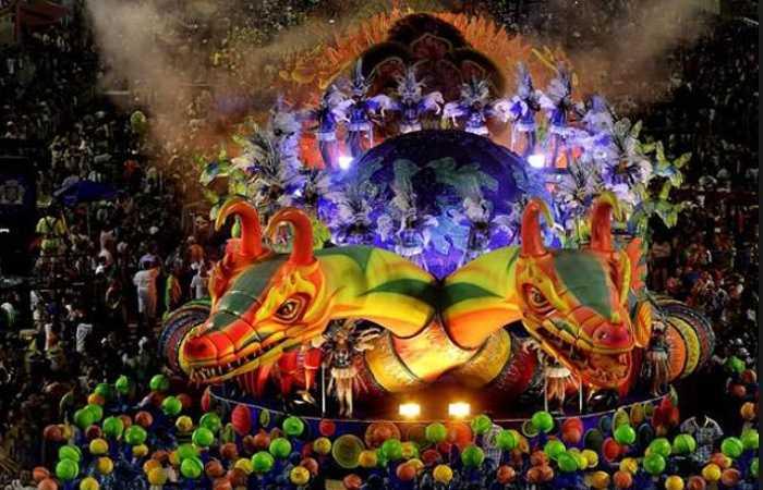 Санта Крус де Тенерифе, ежегодный традиционный карнавал, фото