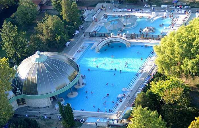 Термальный курорт Венгрии Эгер