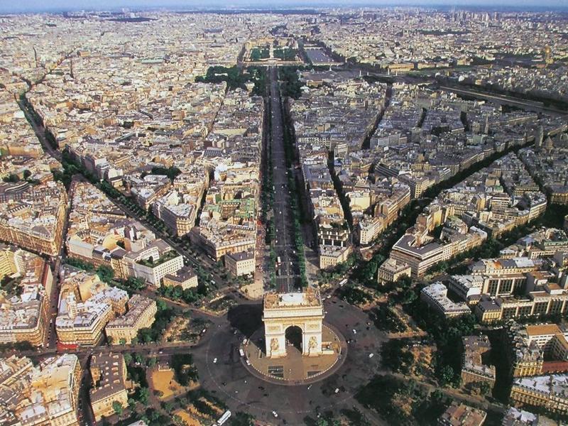 Площадь звезды Париж